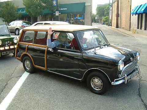 la nouvelle mini clubman crazy auto. Black Bedroom Furniture Sets. Home Design Ideas