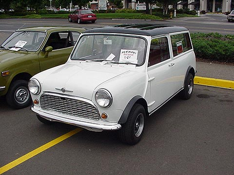 1967 Mini Cooper Wagon Owner John Mack Beaverton Or
