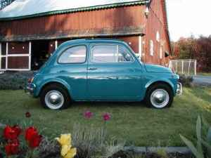 Fiat 500 that is not for sale!