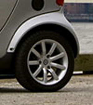 3-lug Smart Car Wheel
