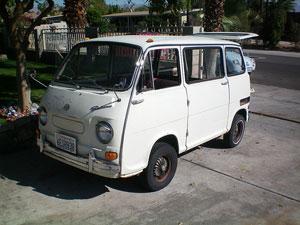 microcar news online 1970 subaru 360 van for sale. Black Bedroom Furniture Sets. Home Design Ideas
