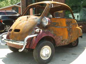 Microcar News Online 1957 Bmw Isetta For Sale Craigslist Mi