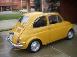 MICROCAR NEWS line 1971 Fiat 500 for sale