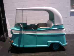 MICROCAR NEWS Online » » 1960 Taylor Dunn Trident for sale