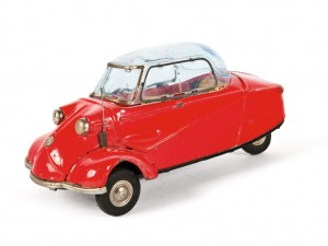 Lot 152: Bandai Messerschmitt Toy Car SOLD for $