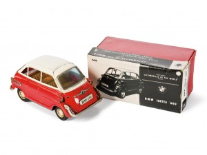 Lot 153: Bandai BMW 600 Toy Car and Original Box SOLD for $