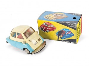 "Lot 221: ""Empire Made"" Isetta Toy Car and Box SOLD for $"