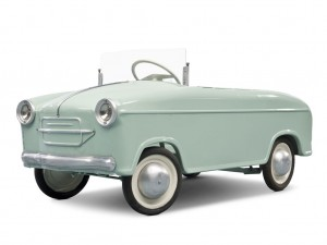 Lot 234: Vespa 400 Child's Pedal Car SOLD for $