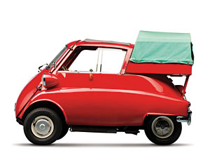 Lot 244: 1961 Isetta 300 Pickup (Factory-Built) SOLD for: