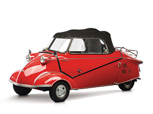 Lot 245: 1961 Messerschmitt KR 200 Cabrio SOLD for: 46,000