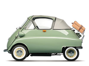 Lot 249: 1956 BMW Isetta 'Bubble Window' Cabrio SOLD for:
