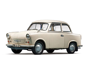 Lot 253: 1958 Trabant P50 and Weferlinger Heimstolz Camping Trailer SOLD for: $