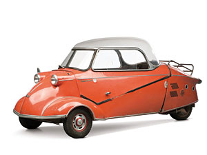 Lot 261: 1959 Messerschmitt KR 200 SOLD for: