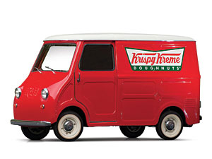 "Lot 269: 1963 Goggomobil TL-250 Transporter ""Krispy Kreme"" SOLD for: $"