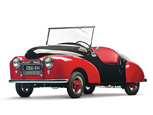 Lot 271: 1951 Atlas Babycar SOLD for: 52,500