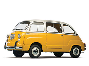 Lot 283: 1960 Fiat Multipla SOLD for: 57,500