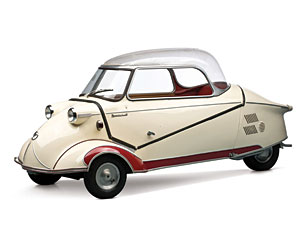 Lot 291: 1955 Messerschmitt KR 200 SOLD for: 28,000