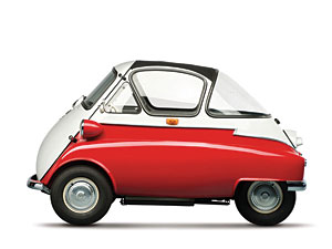 Lot 293: 1956 BMW Isetta 300 'Bubble Window' (Z Molding) SOLD for: $