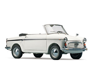 Lot 296: 1961 Autobianchi Bianchina Special Cabriolet SOLD for: 30,000