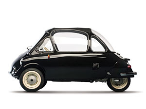 Lot 301: 1956 Heinkel Kabine 153 SOLD for: 47,000