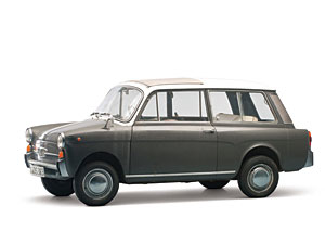 Lot 304: 1965 NSU-Fiat Autobianchi Bianchina Panoramica SOLD for: $