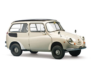 Lot 307: 1967 Subaru 360 Custom SOLD for: 25,000