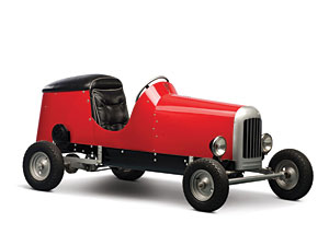 Lot 316: 1949 King Midget Series I SOLD for: 13,000