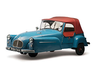 Lot 317: 1953 Bond Minicar Mk C SOLD for: 12,000