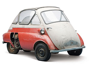 Lot 318: 1956 BMW Isetta 300 SOLD for: 11,000