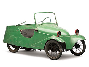 Lot 321: 1952 Mochet CM-125 Luxe SOLD for: 8000
