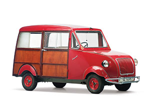 Lot 326: 1960 Biscuter 200-C Comercial SOLD for: 23,000