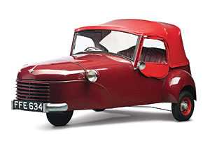 Lot 328: 1951 Bond Minicar Mk B SOLD for: 17,000