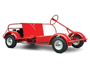 Lot 331: 1960 King Midget Trainer SOLD for: 3000