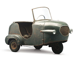 Lot 337: 1953 Manocar Prototype SOLD for: 6000